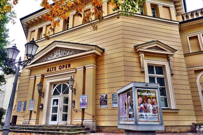 Alte Oper Erfurt - Außenansicht