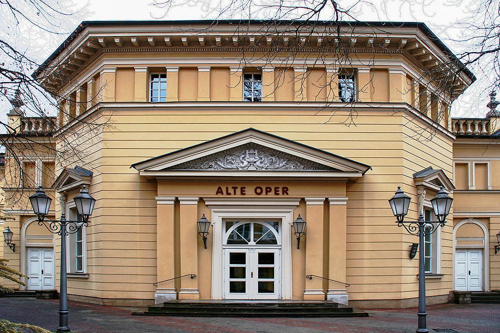 Alte Oper Erfurt - Eingang