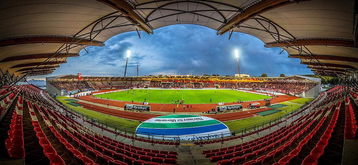 Steigerwaldstadion - Stadion - Abendspiel