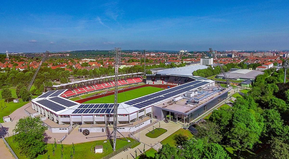 Steigerwaldstadion - Luftbild