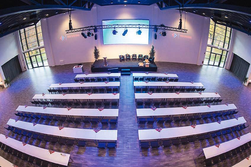 Steigerwaldstadion - Paarsaal Tagung