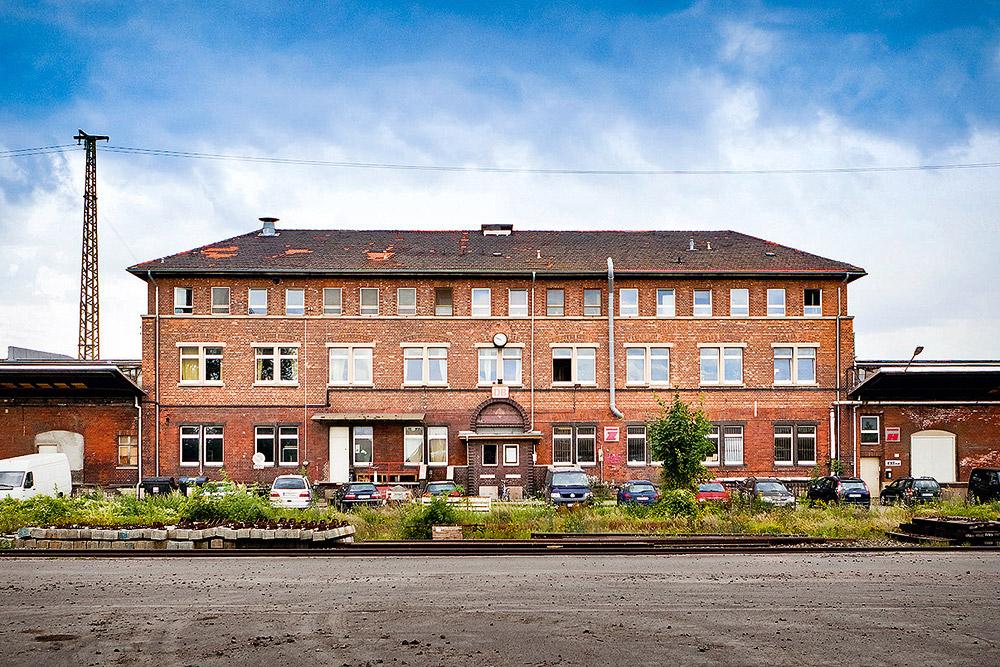 Zughafen Erfurt - Hauptgebäude