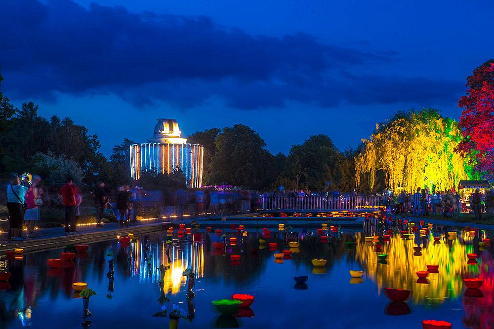 egapark Erfurt - Lichterfest