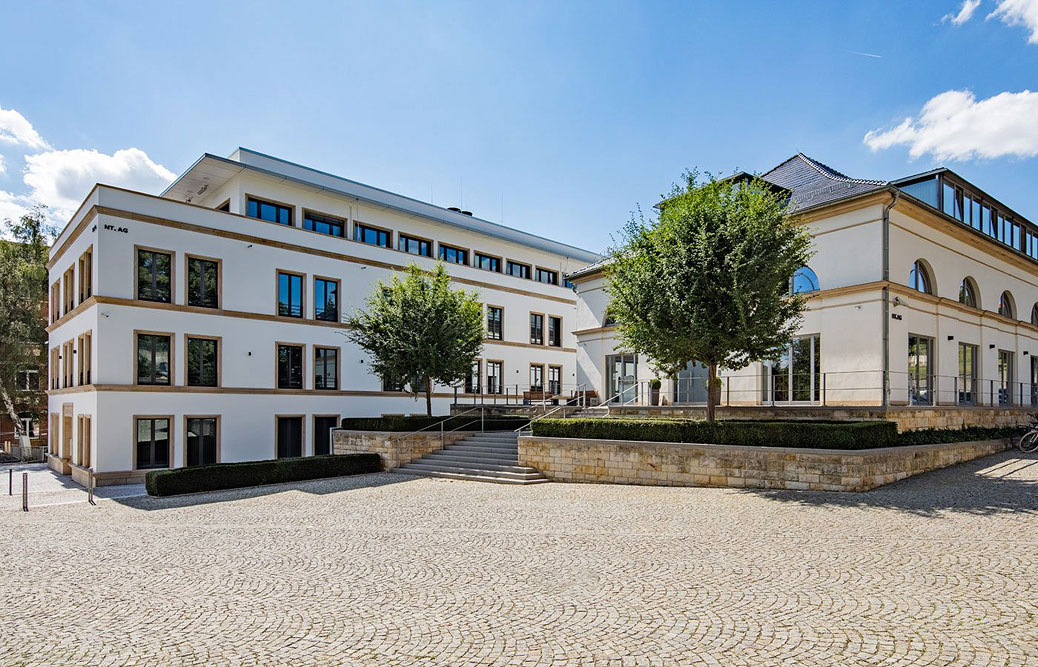 Dompalais Erfurt - Außenansicht