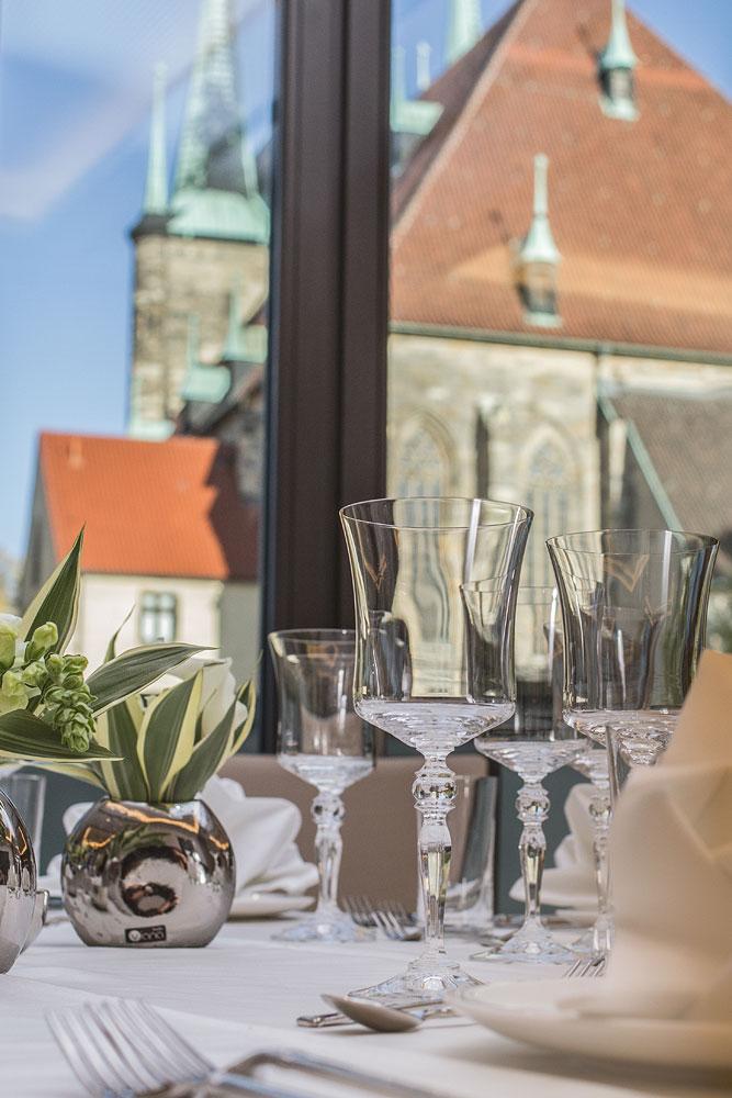 Dompalais Erfurt - Domblick