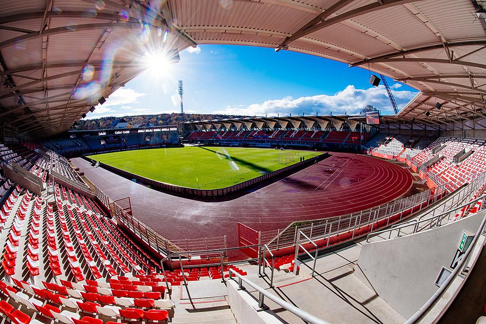 Steigerwaldstadion - Erfurt - Ansicht
