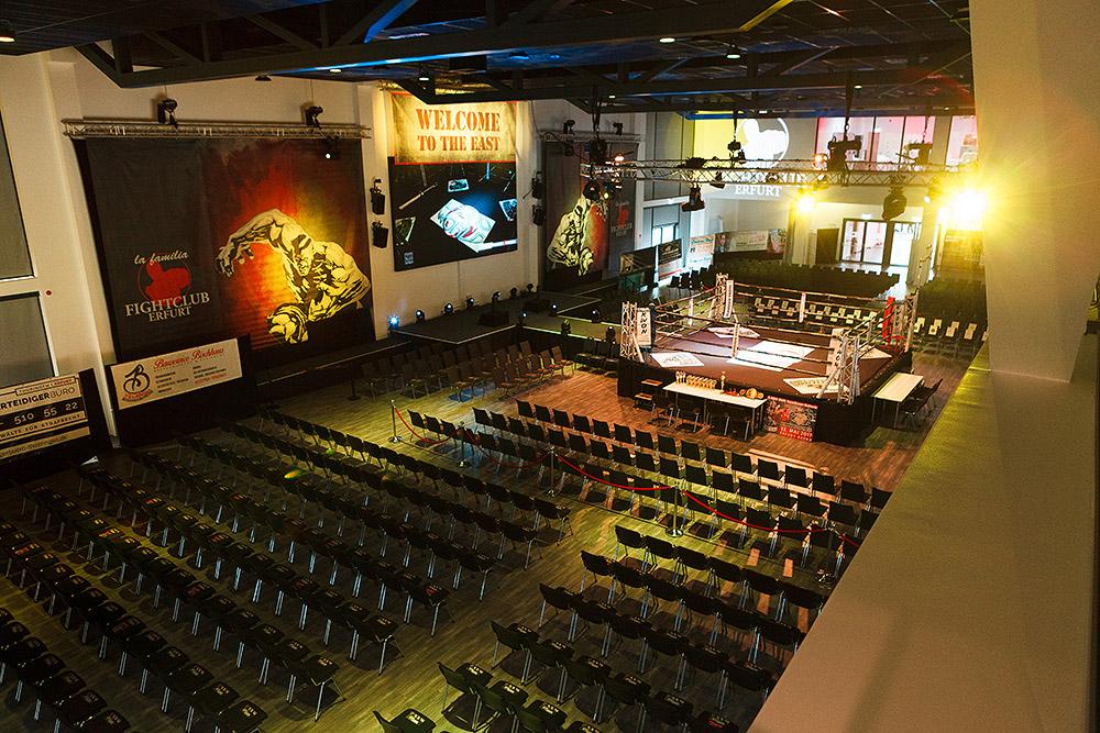 Steigerwaldstadion - Parksaal - Fightclub Erfurt
